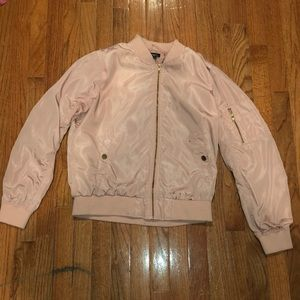Cute pink bomber jacket